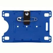Kortholder - Cardkeep, Exellent, svart m/metallklipps og sikkerhetsnål, liggende