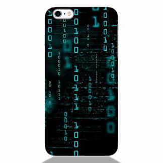 Falling Matrix Code iPhone 6S Back Cover