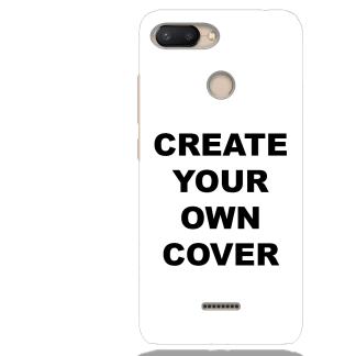 Customized Xiaomi Redmi 6 Back Cover