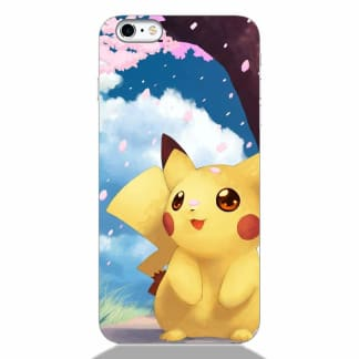 Cute Pikachu iPhone 6 Back Cover