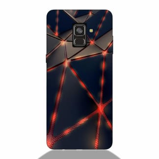 3D Abstract Samsung A8 Plus 2018 Back Cover