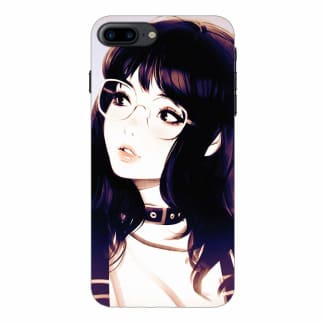 Cute Korean Girl iPhone 7 Plus Back Cover