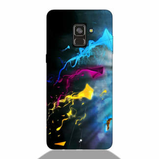 Abstract Colorful Samsung A8 Plus 2018 Back Cover