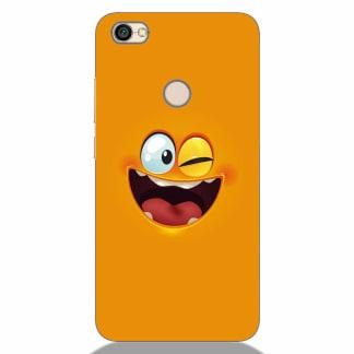 Crazy Smile Xiaomi Redmi Y1 Back Cover