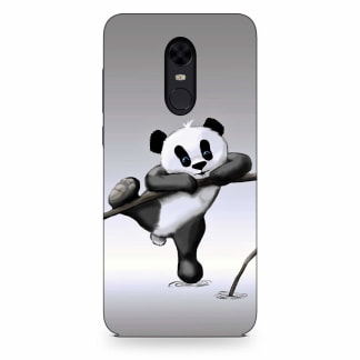 Cute Hanging Panda Xiaomi Redmi Note 5 Back Cover