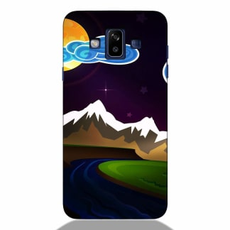Ice Mountain Samsung J7 Duos 2018 Back Cover