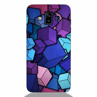 Colorful Cubes Samsung J7 Duos 2018 Back Cover
