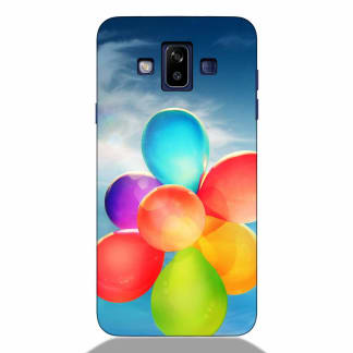 Colorful Balloons Samsung J7 Duos 2018 Back Cover