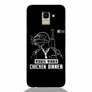 Chicken Dinner Samsung J6 2018 Back Cover