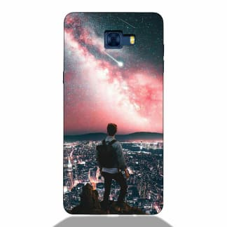 Love Solo Life Samsung C7 Pro Back Cover