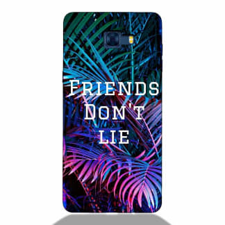 Friends Don't Lie Samsung C7 Pro Back Cover
