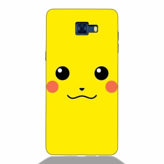 Cute Pikachu Face Samsung C7 Pro Back Cover