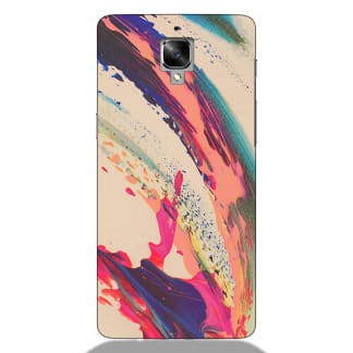 Colorful Paint Spread Oneplus 3 Back Cover