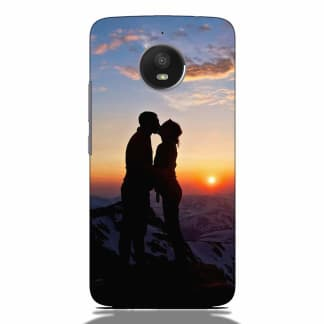Sunset Couple Motorola G5s Back Cover