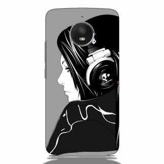 Music Lover Girls Motorola G5s Back Cover