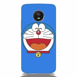 Doraemon Face Motorola G5s Back Cover