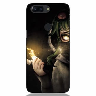 Hoodie Girl Oneplus 5T Back Cover