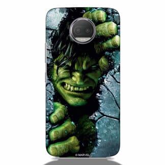 Breaking Wall Hulk Motorola G5s Plus Back Cover