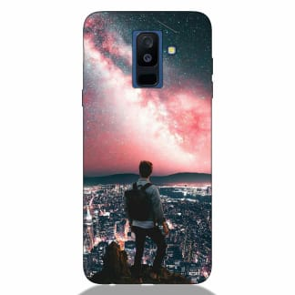 Love Solo Life Samsung A6 Plus 2018 Back Cover