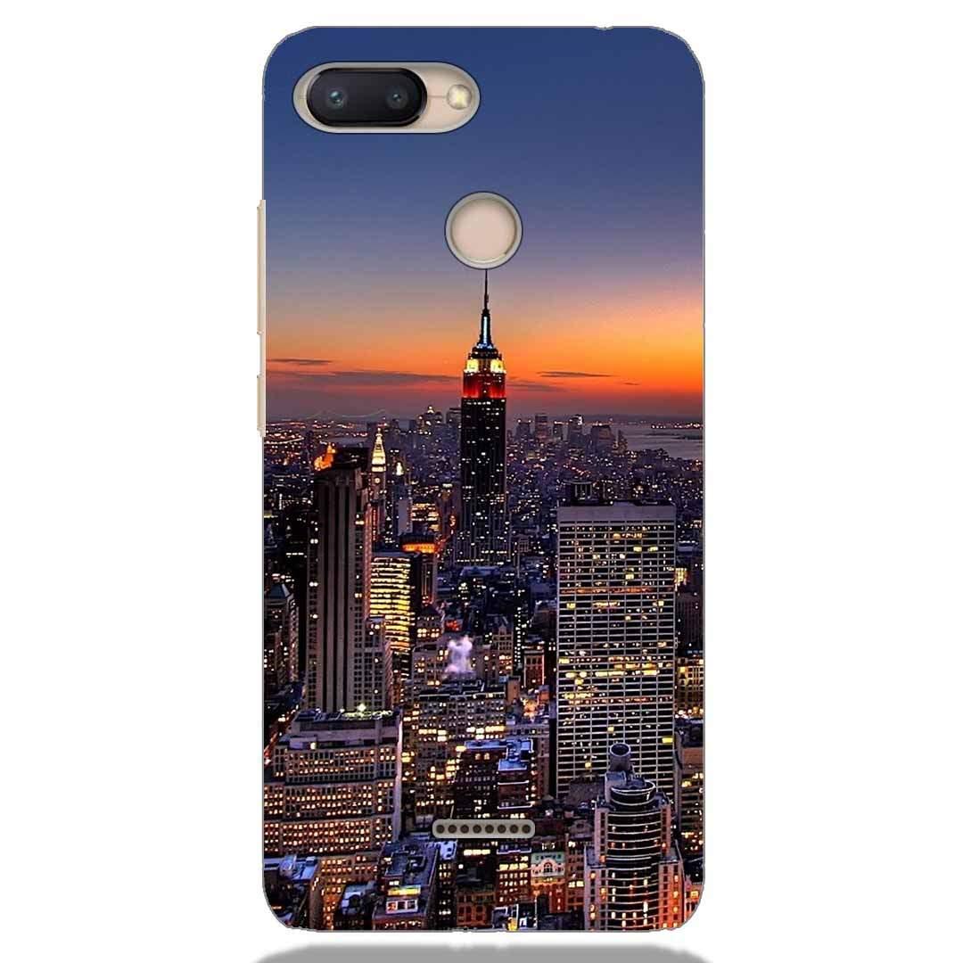 City Xiaomi Redmi 6 Back Cover