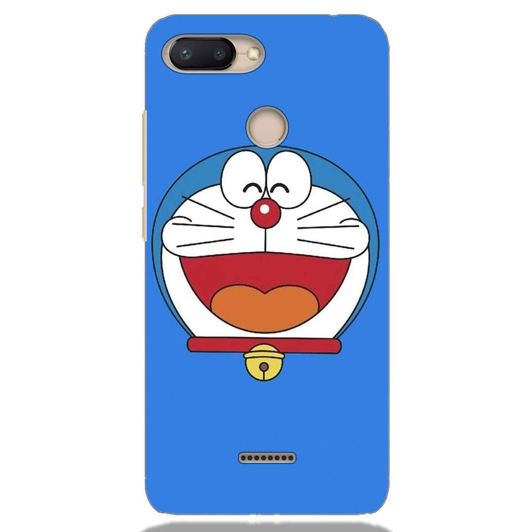 Doraemon Face Xiaomi Redmi 6 Back Cover