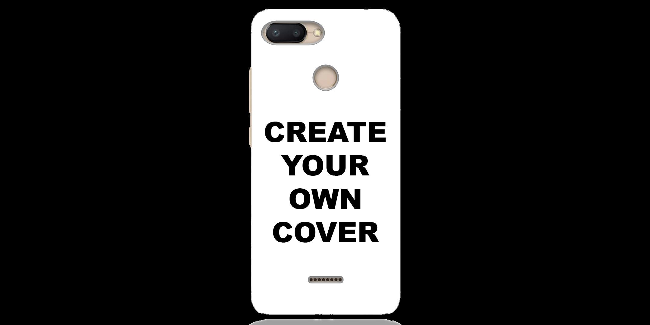 Customized Xiaomi Redmi 6 Back Cover