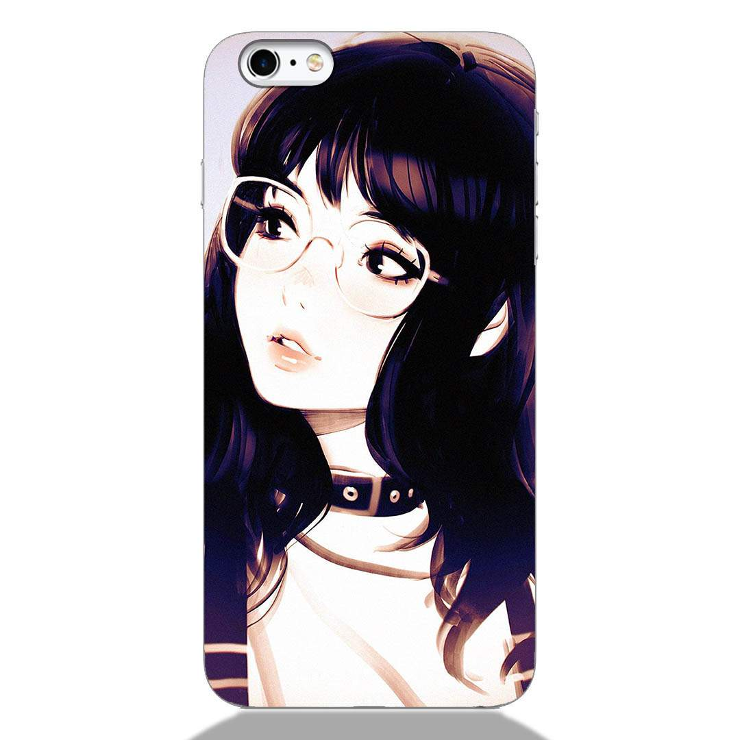 Cute Korean Girl iPhone 6 Back Cover