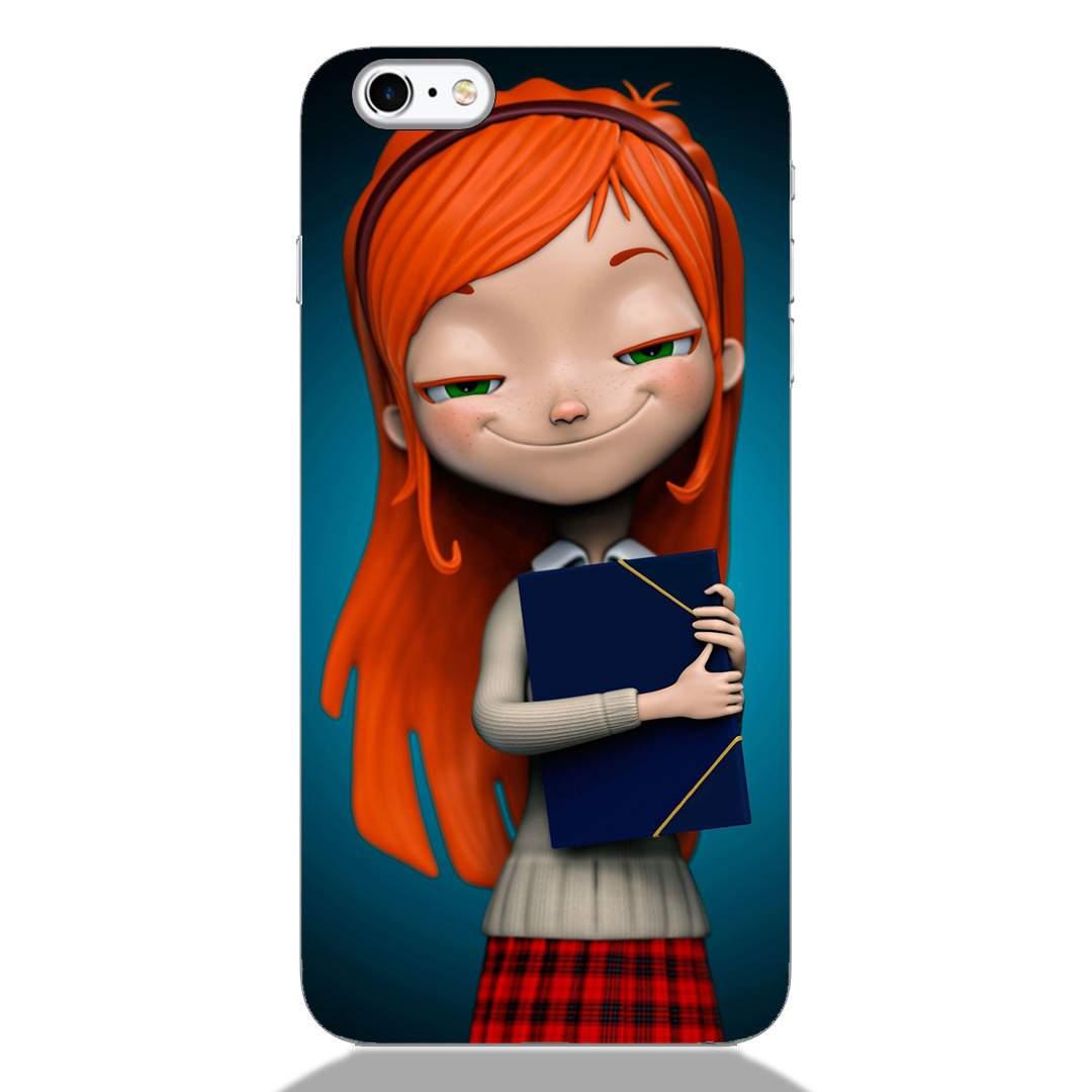 Cute Nerd Girl iPhone 6S Plus Back Cover