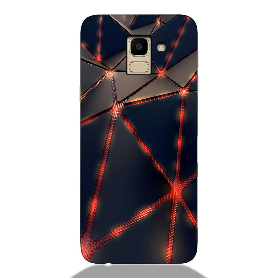 3D Abstract Samsung J6 2018 Back Cover