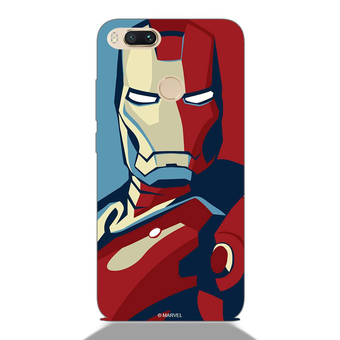 Abstract Ironman Face Xiaomi Mi A1 Back Cover