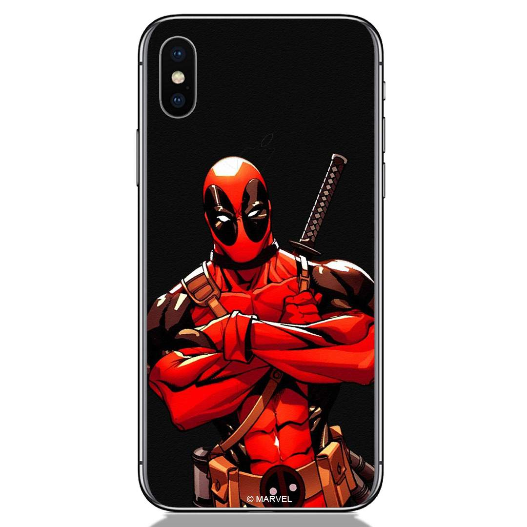 Amazing Deadpool Apple iPhone X Back Cover