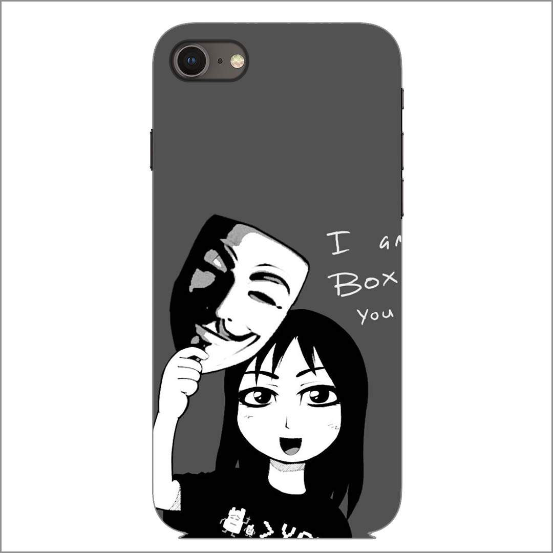 Girl Anonymous iPhone 8 Back Cover