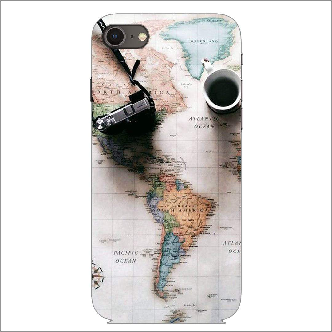 Travel Lovers iPhone 8 Back Cover