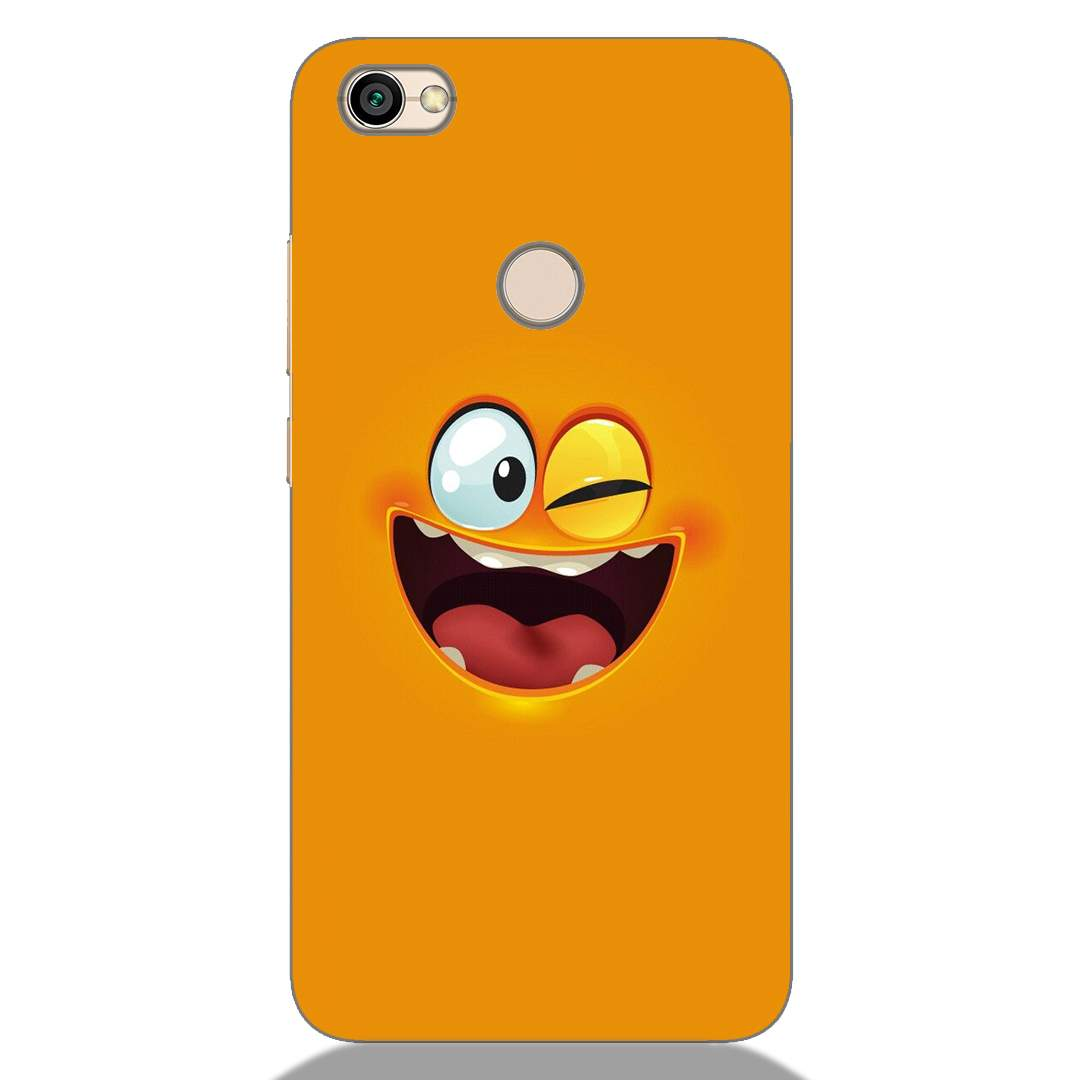 Crazy Smile Xiaomi Redmi Y1 Back Cover