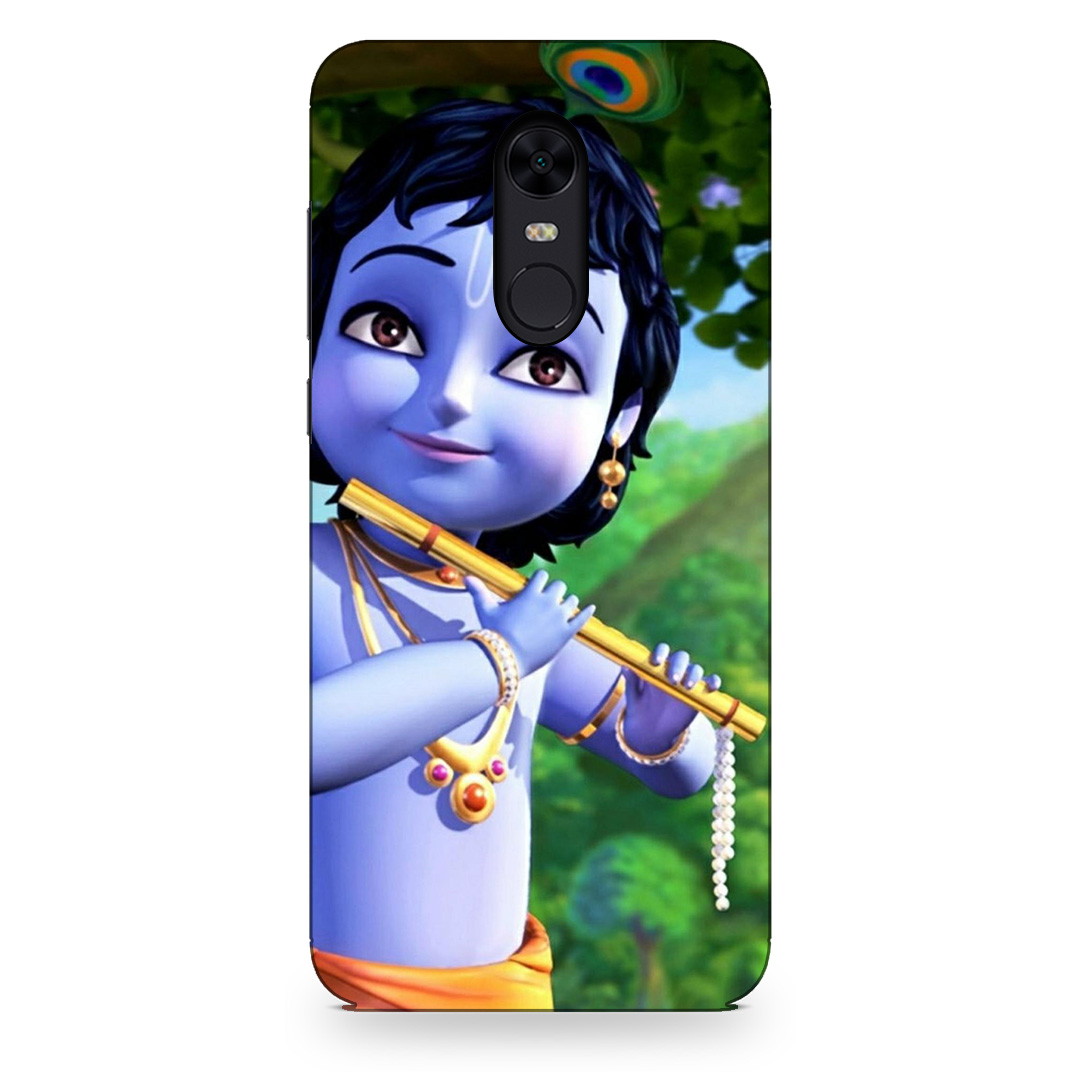 Baby Lord Kanha Xiaomi Redmi Note 5 Back Cover