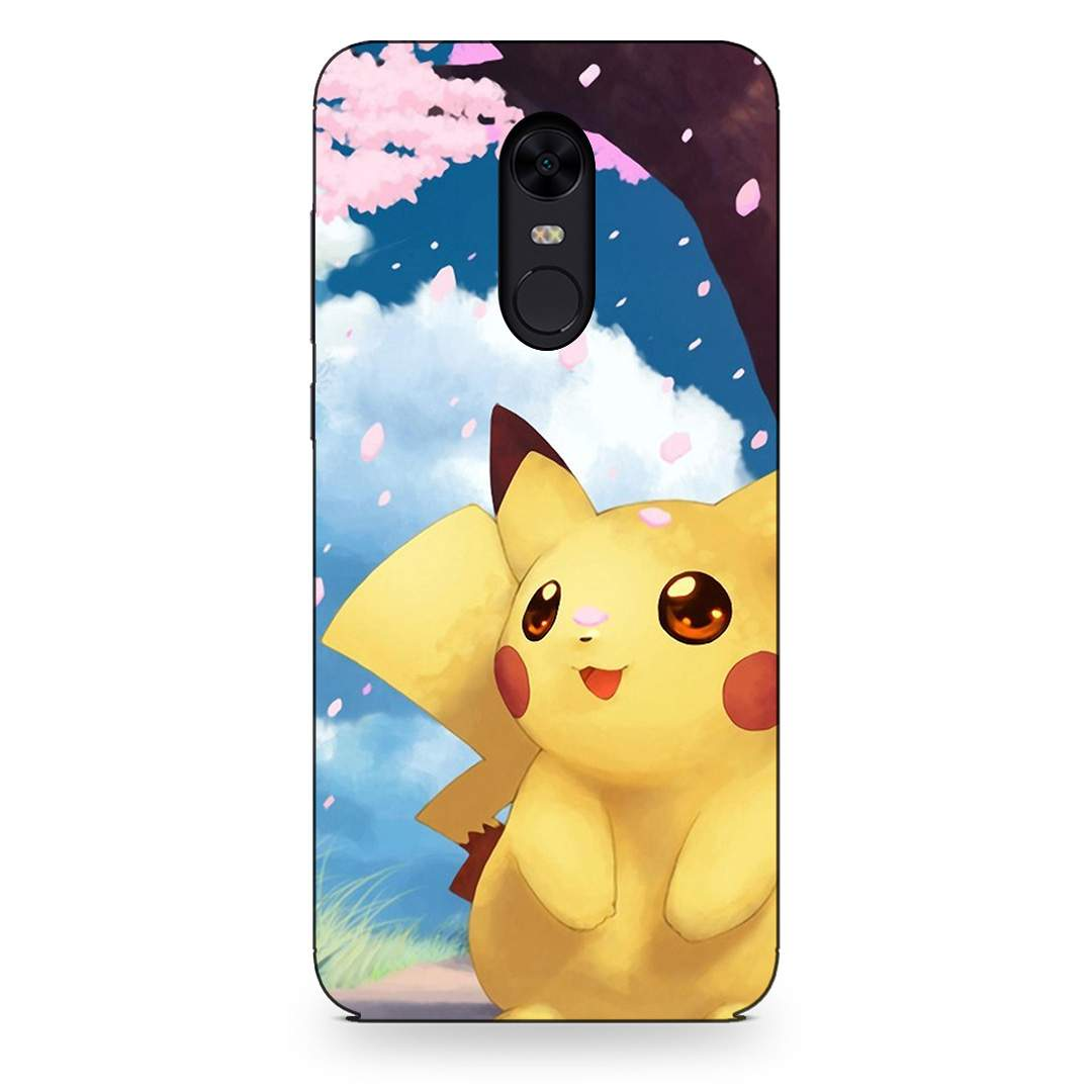 Cute Pikachu Xiaomi Redmi Note 5 Back Cover