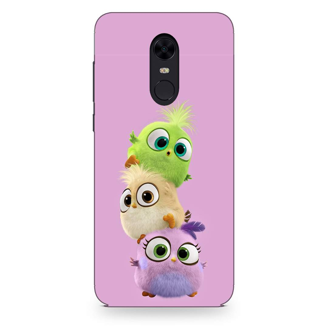 Cute Baby Birds Xiaomi Redmi Note 4 Back Cover