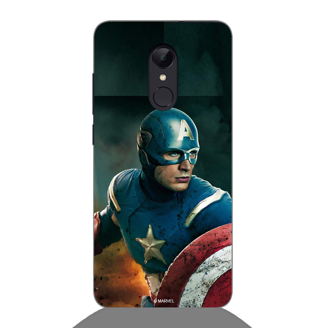 Captain America Xiaomi Redmi 5 Back Cover
