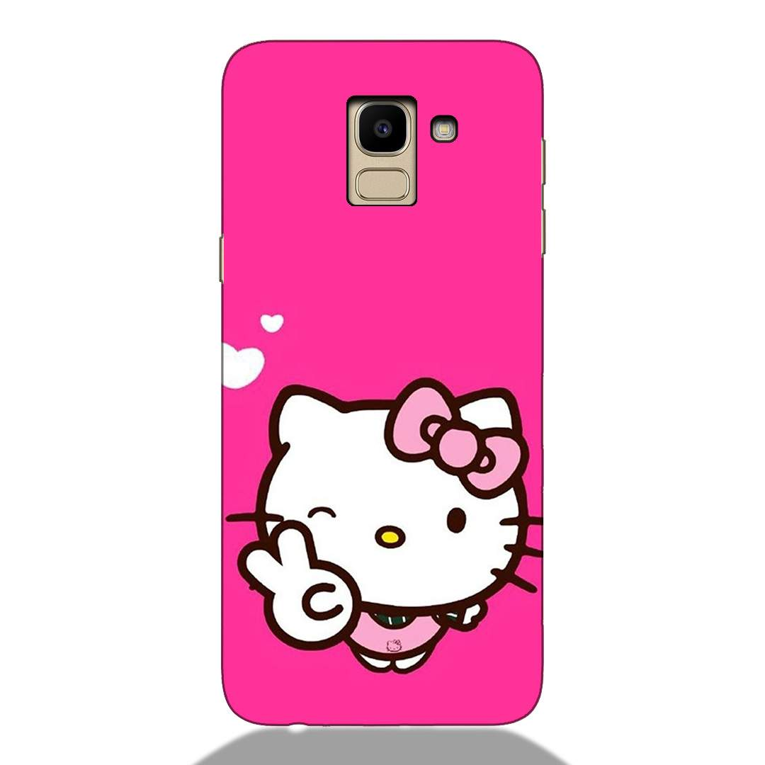 Sweet Kitty Samsung J6 2018 Back Cover