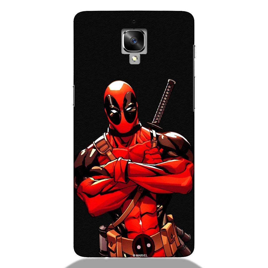 Stud Deadpool Oneplus 3 Back Cover