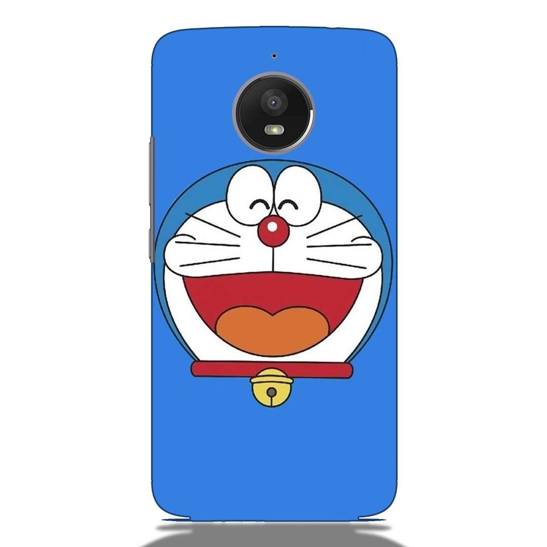 Doraemon Face Motorola G5s Back Cover