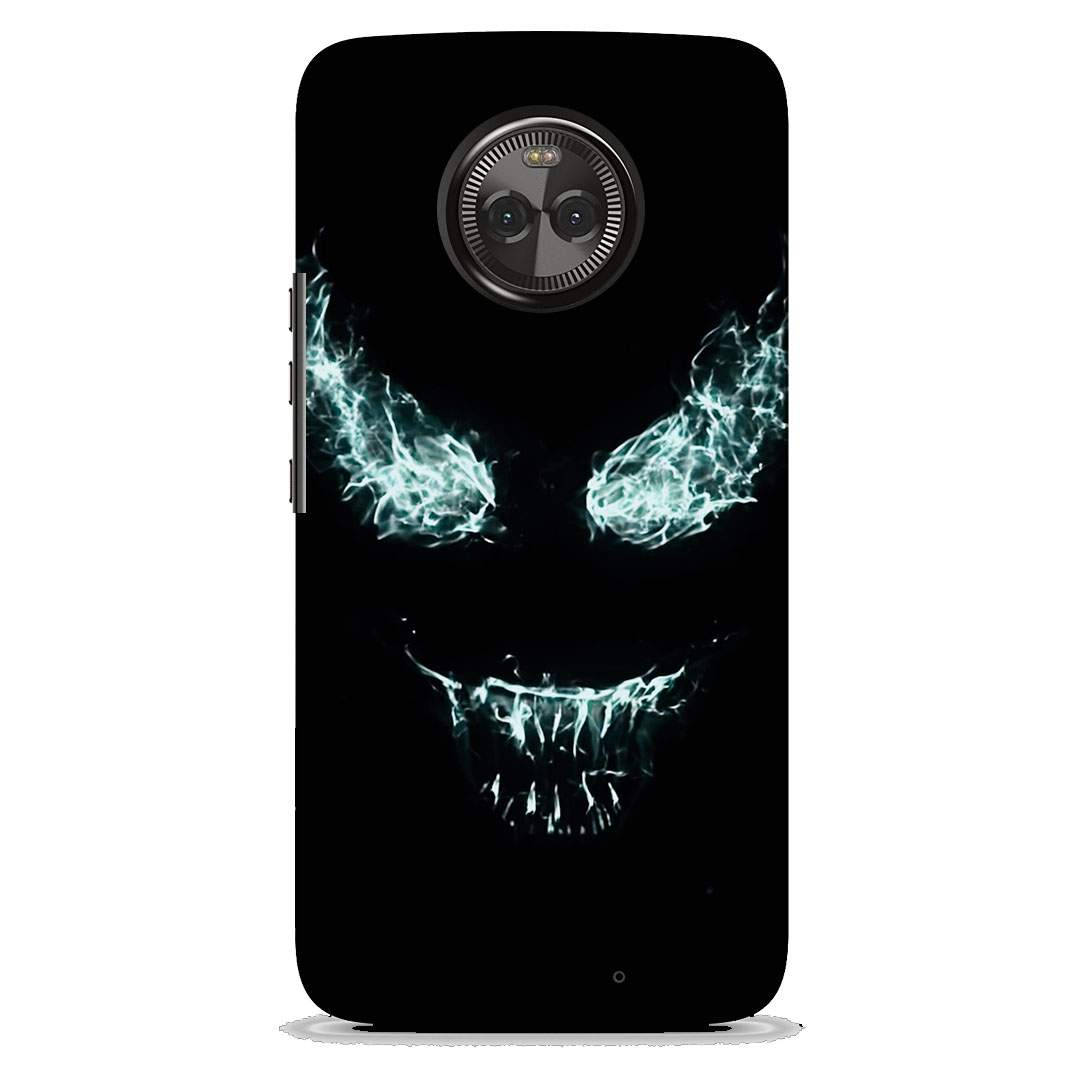 Venom Face Motorola X4 Back Cover