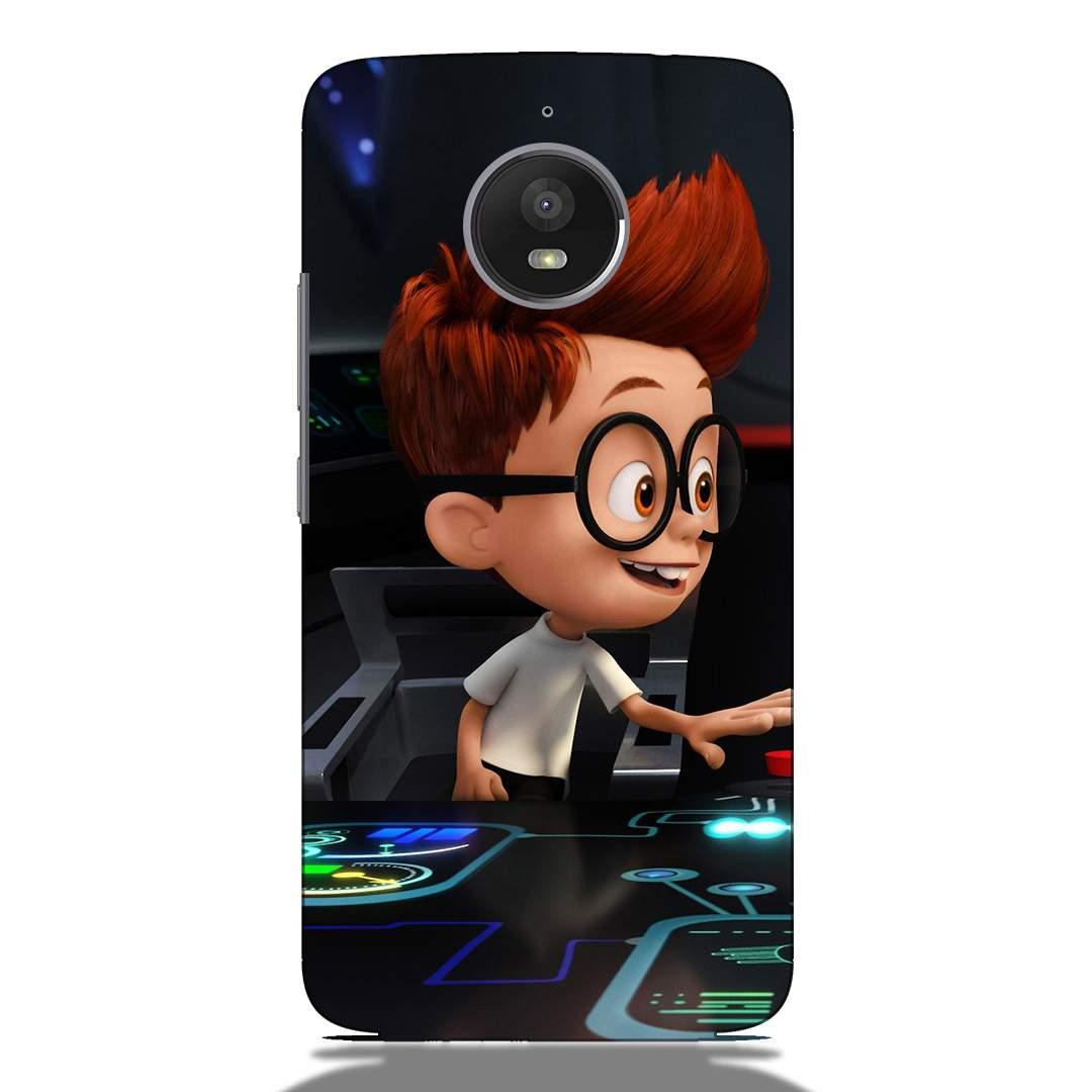Little Tech Boy Motorola E4 Plus Back Cover