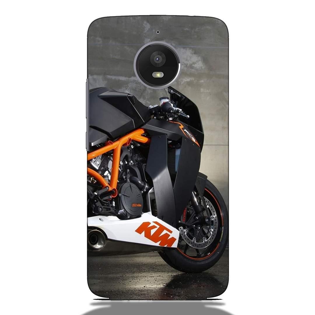 KTM Duke Love Motorola E4 Plus Back Cover