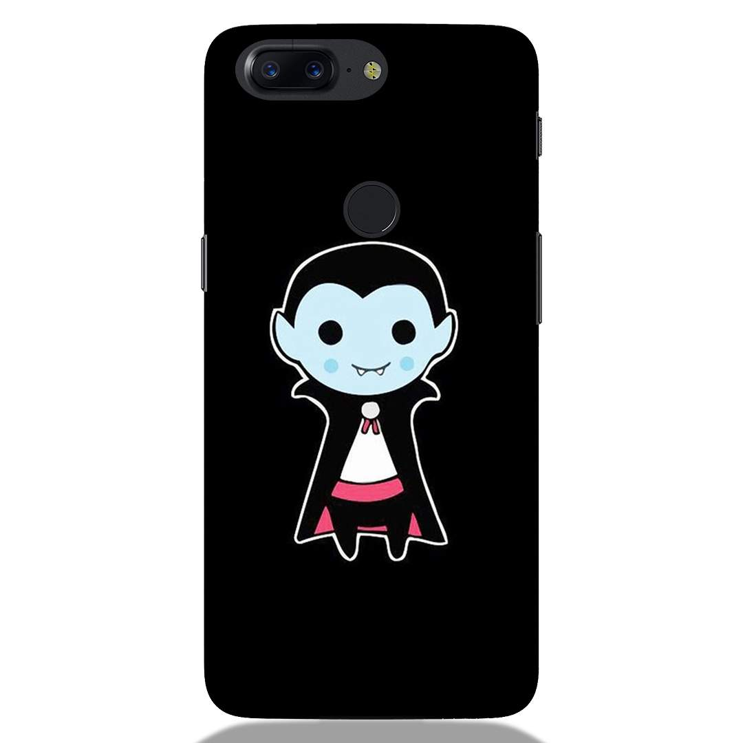 Cute Dracula Cartoon Oneplus 5T Back Cover