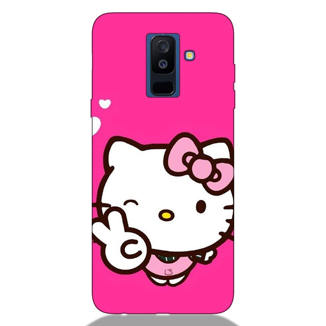 Sweet Kitty Samsung A6 Plus 2018 Back Cover