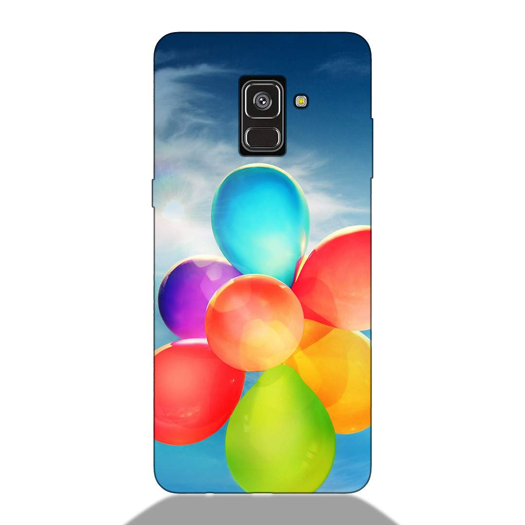 Colorful Balloons Samsung A8 Plus 2018 Back Cover