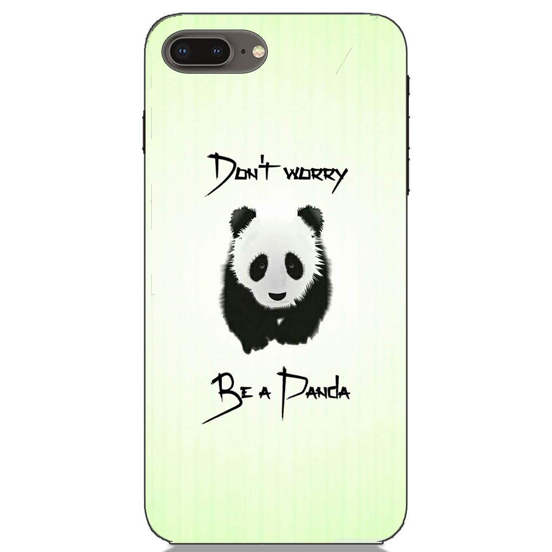 Cool Panda iPhone 8 Plus Back Cover