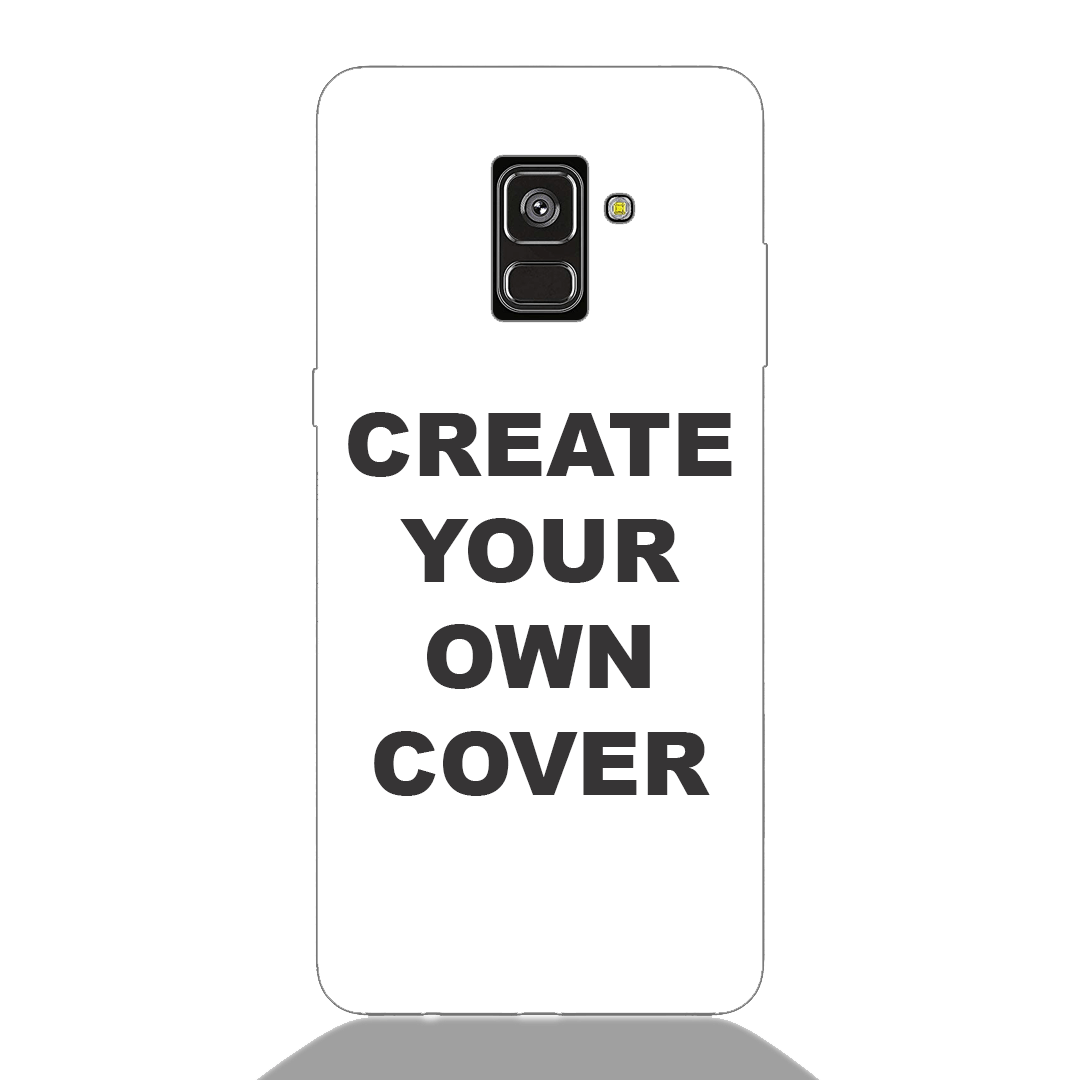 Customized Samsung A8 Plus 2018 Back Cover
