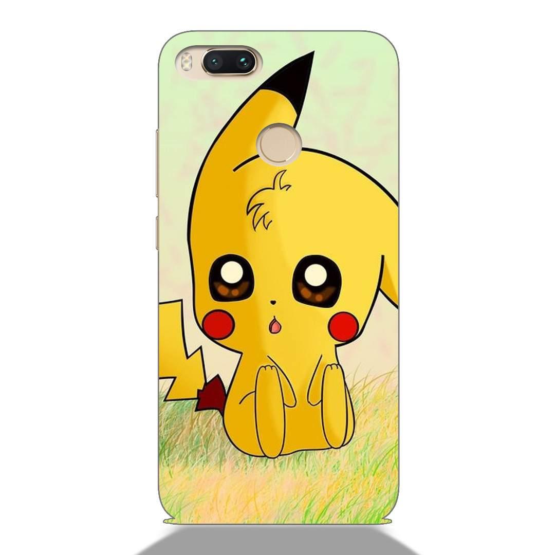 Cute Pikachu Pokemon Xiaomi Mi A1 Back Cover